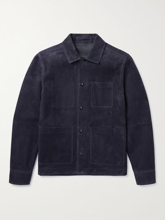 MR P. Suede Chore Jacket