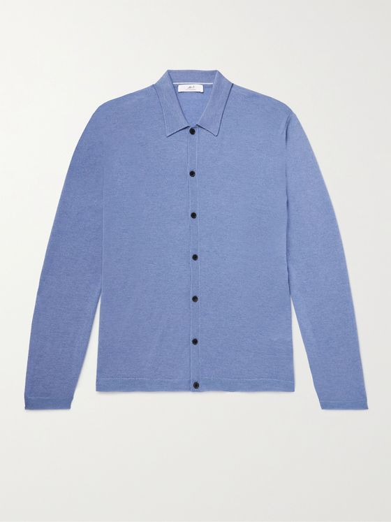 MR P. Cashmere Polo Shirt