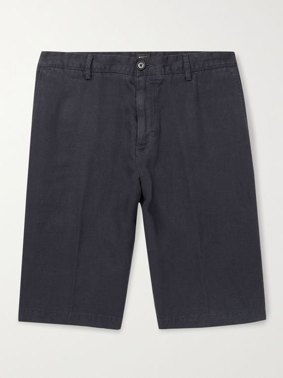 HUGO BOSS Linen Shorts