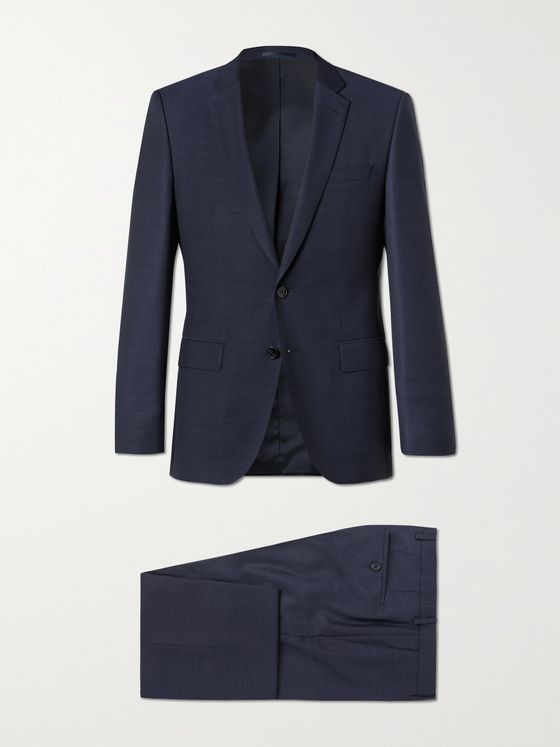 HUGO BOSS Huge6/ Genius5 Slim-Fit Virgin Wool Suit