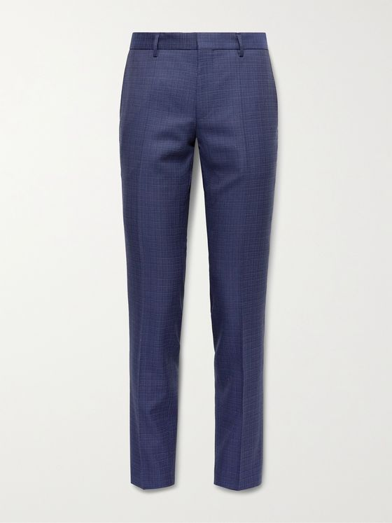 HUGO BOSS Ben2 Slim-Fit Virgin Wool Suit Trousers