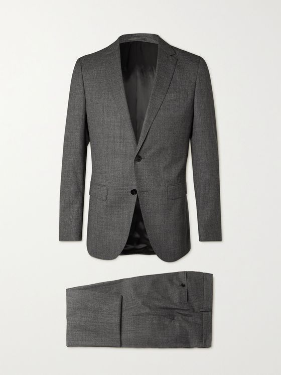 HUGO BOSS Novan6/ Ben2 Slim-Fit Virgin Wool Suit