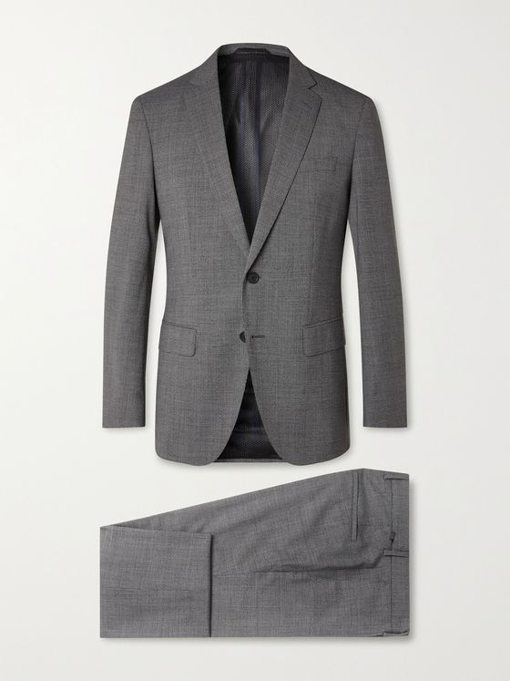 HUGO BOSS Herrel/ Grace Slim-Fit Puppytooth Woven Suit