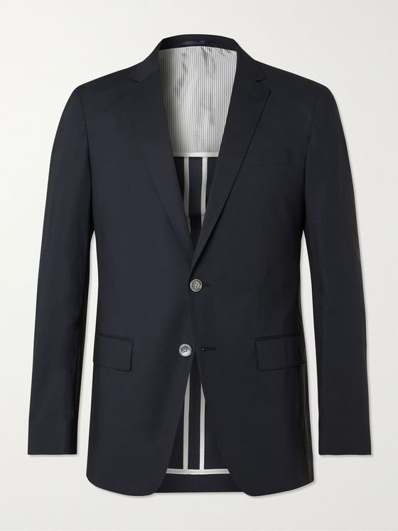 HUGO BOSS Hartlay2 Slim-Fit Stretch-Cotton Suit Jacket