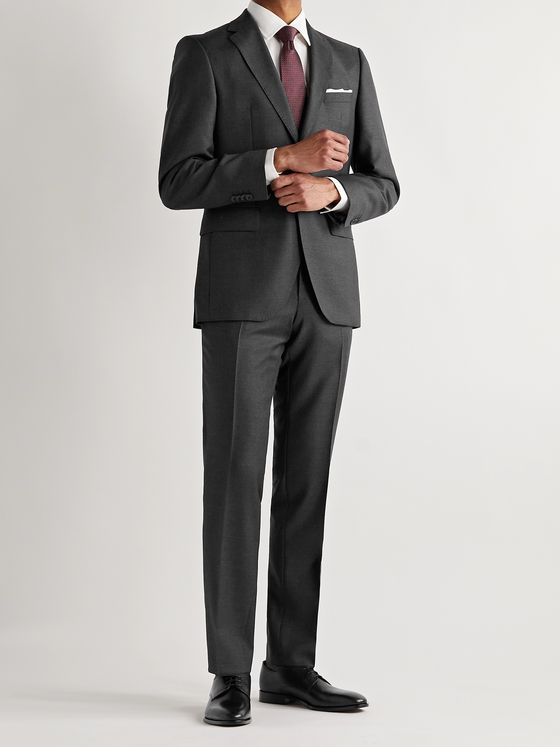 HUGO BOSS Jeckson Virgin Wool Suit Jacket