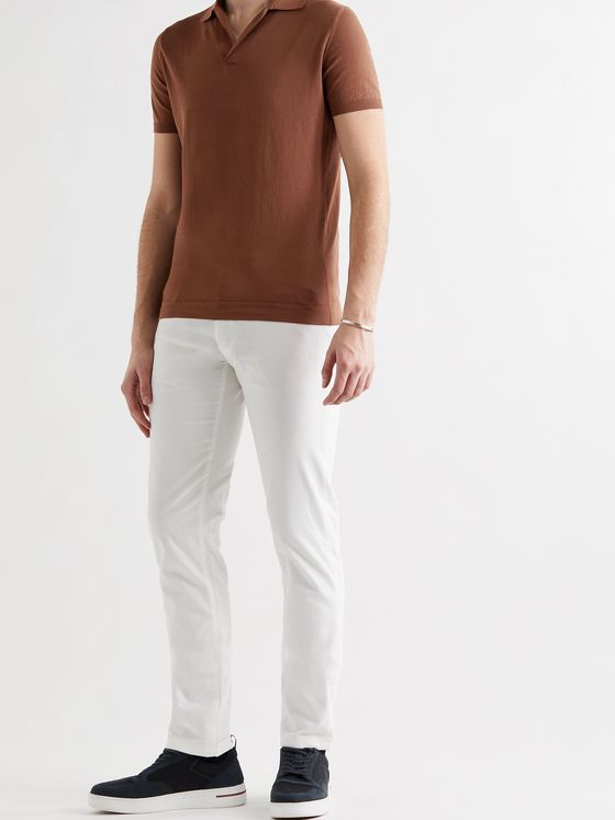 LORO PIANA Cotton Polo Shirt