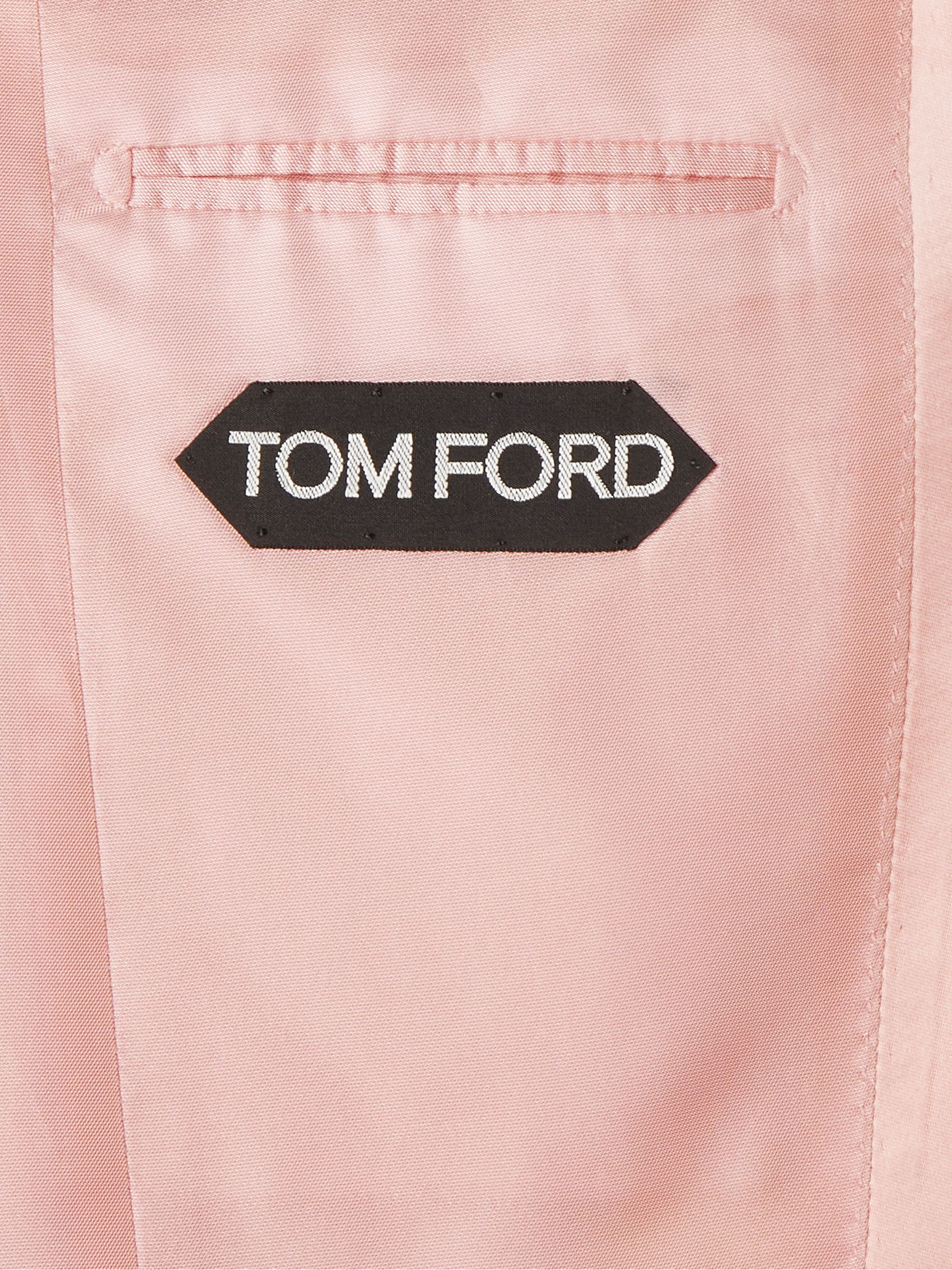 TOM FORD Atticus Satin-Trimmed Twill Tuxedo Jackt