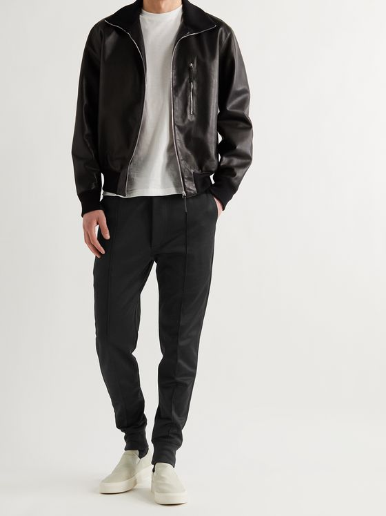 TOM FORD Slim-Fit Tapered Jersey Sweatpants