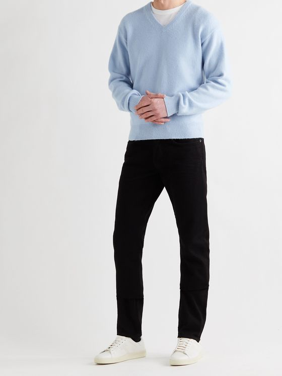 TOM FORD Slim-Fit Brushed-Cashmere Sweater