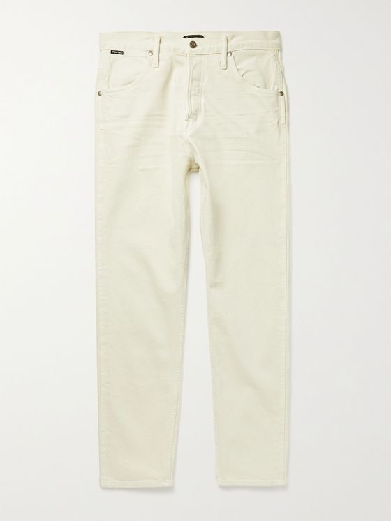 TOM FORD Slim-Fit Selvedge Stretch-Denim Jeans