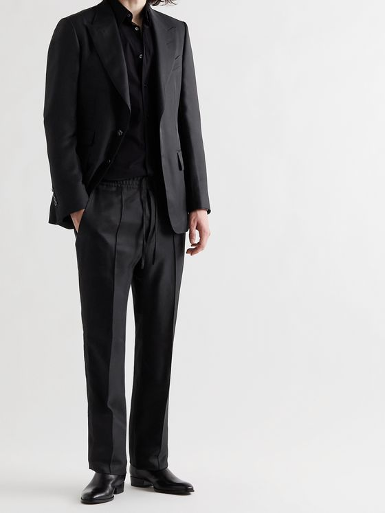 TOM FORD Shelton Twill Suit Jacket
