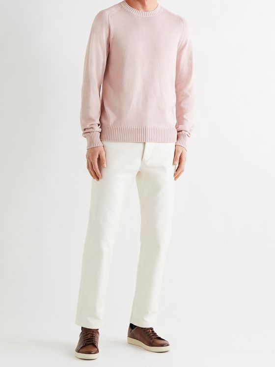 TOM FORD Cotton and Silk-Blend Sweater