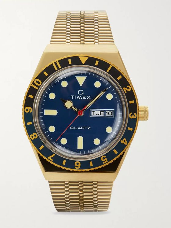 TIMEX Q Timex Reissue 38mm Gold-Tone Watch