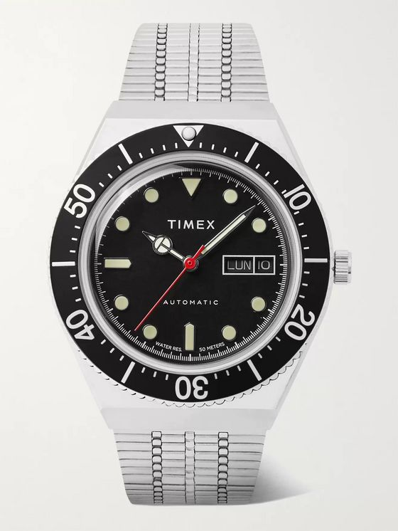 TIMEX M79 Automatic 40mm Stainless Steel Watch