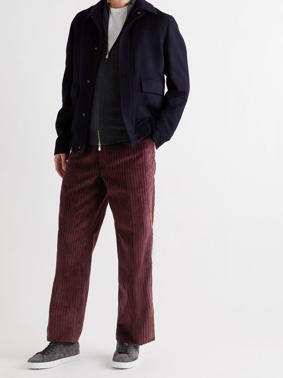 TOD'S Cotton-Corduroy Trousers