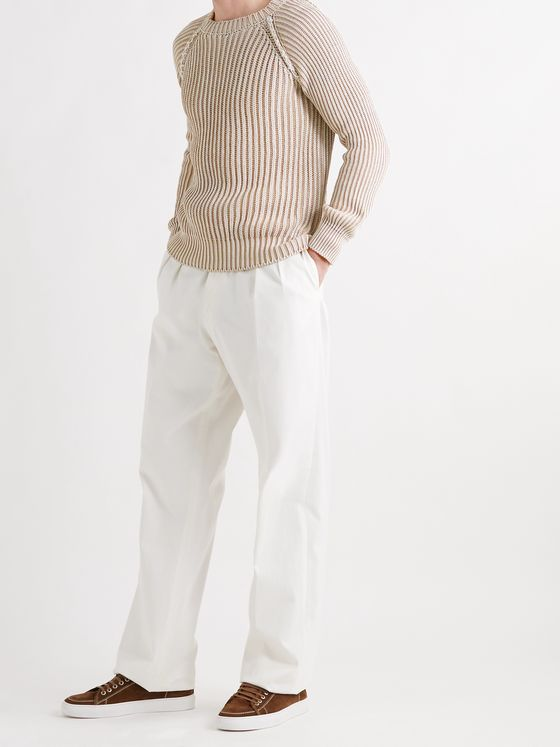 TOD'S Ribbed Cotton Sweater