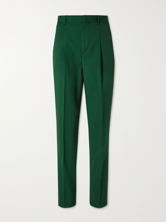 TOD'S Virgin Wool and Mohair-Blend Trousers