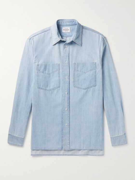 TOD'S Cotton-Chambray Shirt