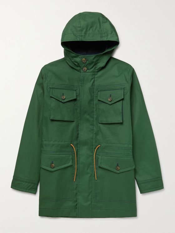 TOD'S Oversized Cotton Hooded Parka