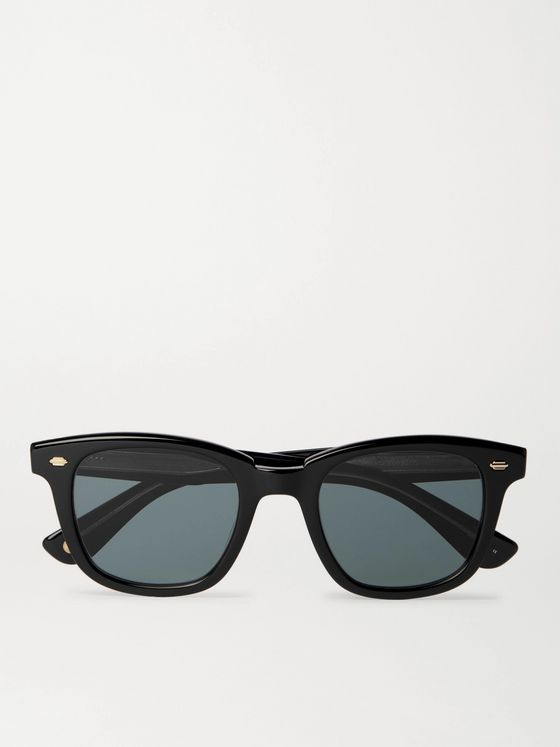 Garrett Leight California Optical Calabar Square-Frame Acetate Sunglasses