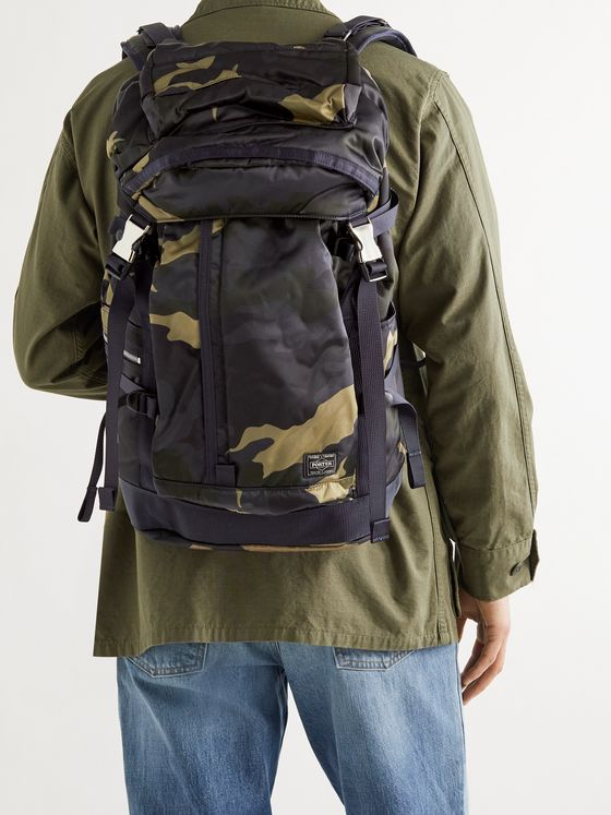 PORTER-YOSHIDA & CO Counter Shade Camouflage-Print Nylon Backpack