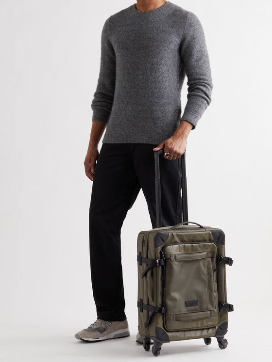 EASTPAK Trans4 Coated-Canvas Carry-On Suitcase