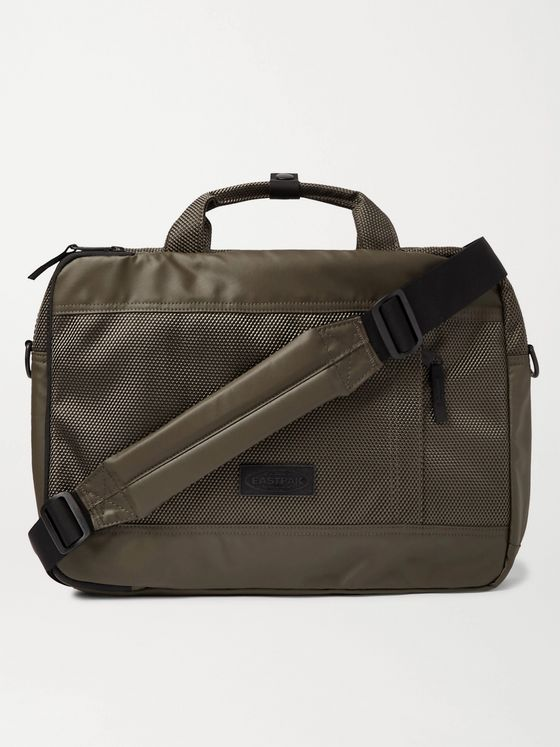"EASTPAK Acton CNNCT 15"" Coated-Canvas Briefcase"