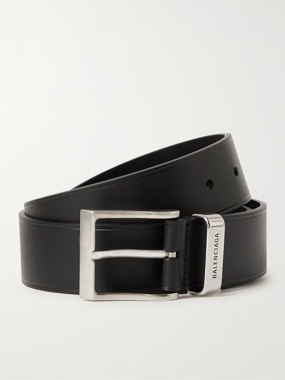 BALENCIAGA 3.5cm Leather Belt