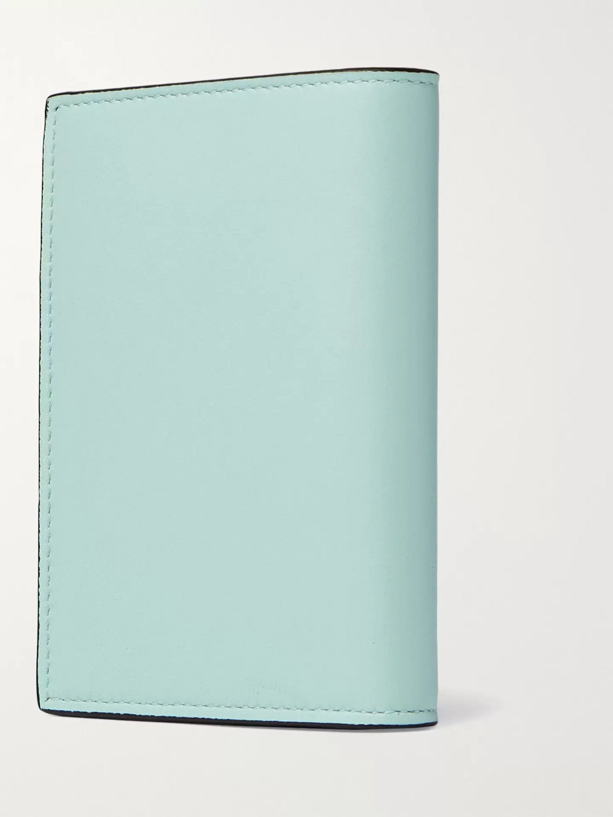 LOEWE + Ken Price Printed Leather Billfold Wallet