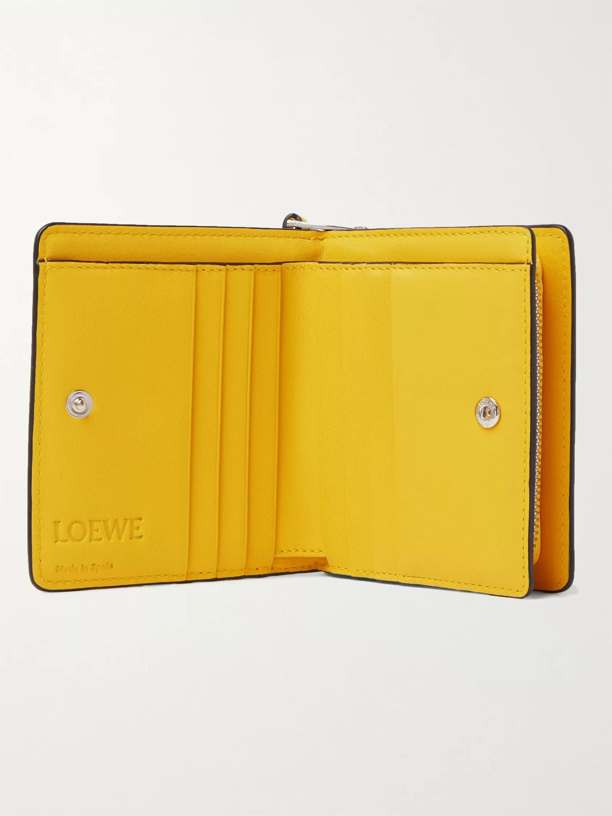 LOEWE + Ken Price L.A. Printed Leather Coin Wallet