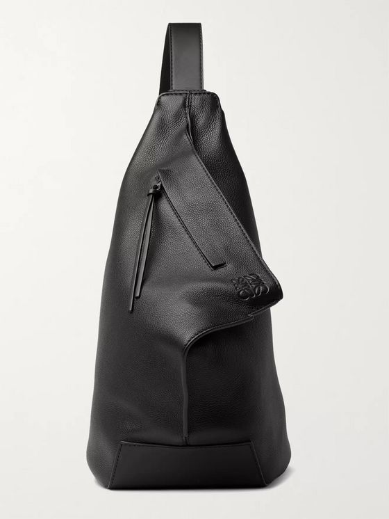 LOEWE Anton Full-Grain Leather Backpack