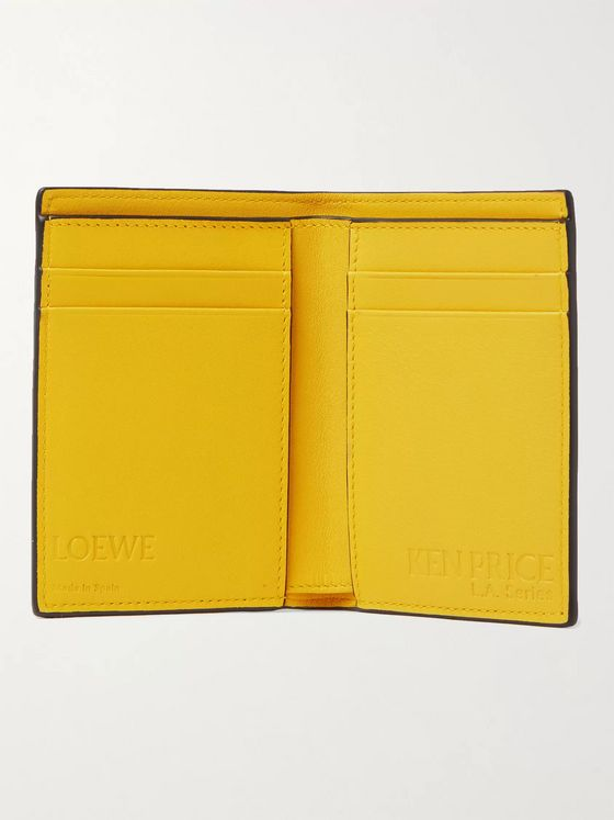 LOEWE + Ken Price L.A. Printed Leather Billfold Wallet