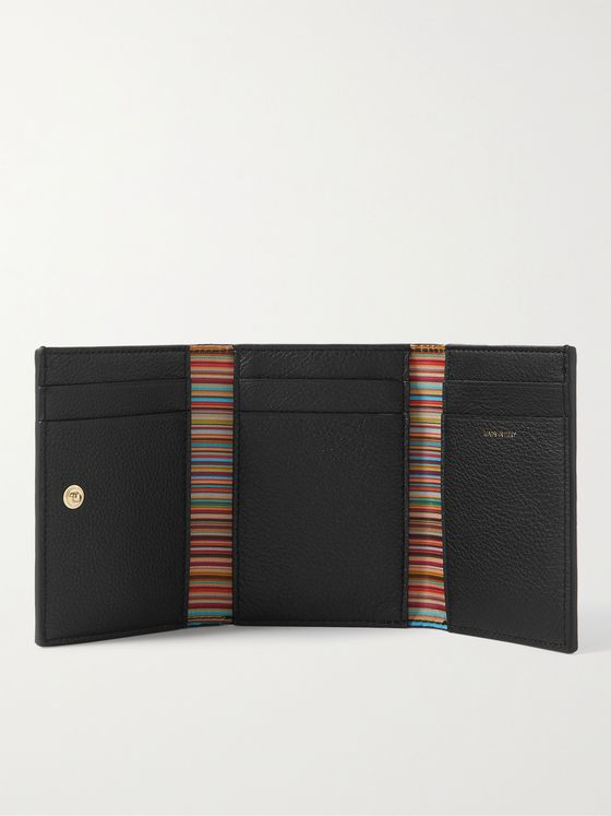 PAUL SMITH Full-Grain Leather Trifold Wallet