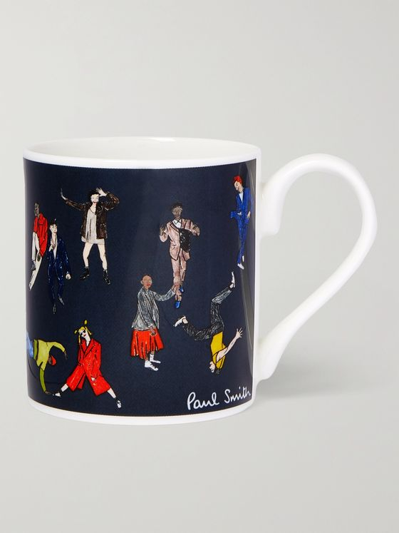 PAUL SMITH Printed Ceramic Mug