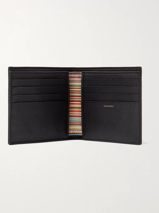 PAUL SMITH Full-Grain Leather Billfold Wallet