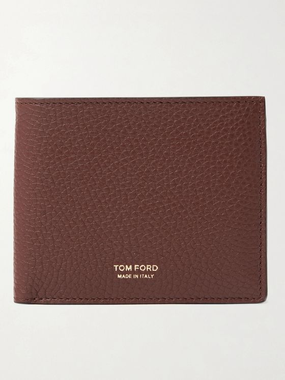TOM FORD Full-Grain Leather Billfold Wallet