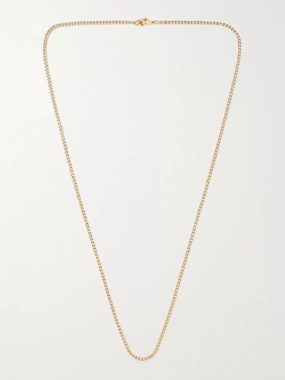MAPLE Gold-Filled Chain Necklace