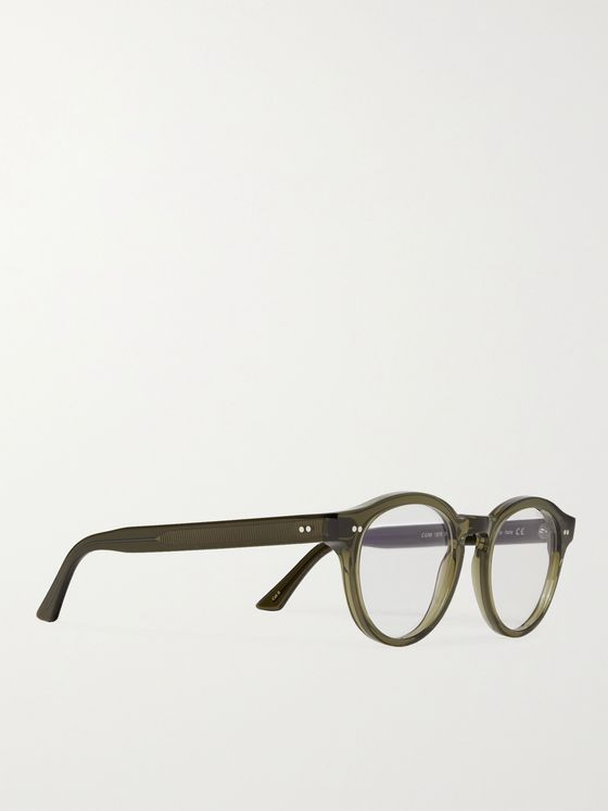 CUTLER AND GROSS 1378 Round-Frame Acetate Blue Light-Blocking Optical Glasses