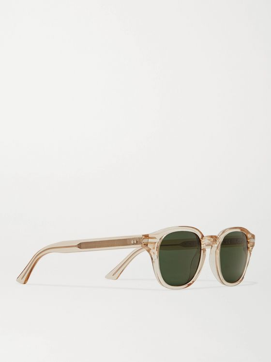 CUTLER AND GROSS 1356 D-Frame Acetate Sunglasses