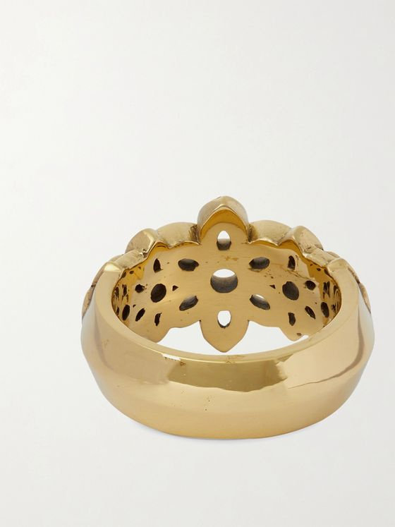 GOOD ART HLYWD 22-Karat Gold Ring