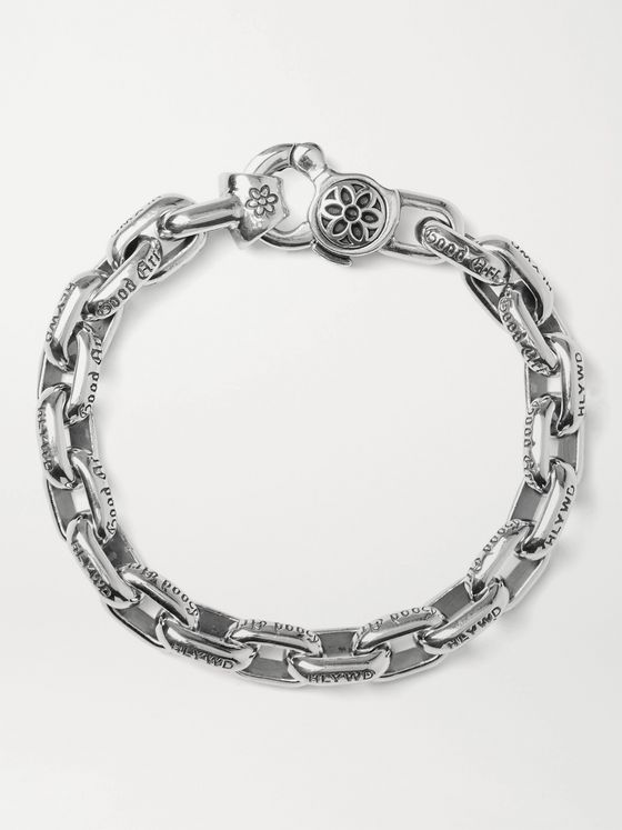 GOOD ART HLYWD Bear Link #3 Sterling Silver Chain Bracelet