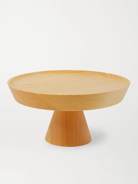 BY JAPAN + 639 High Cedar Plate Stand
