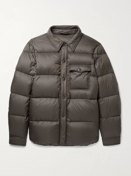 TOM FORD Quilted Shell Down Overshirt