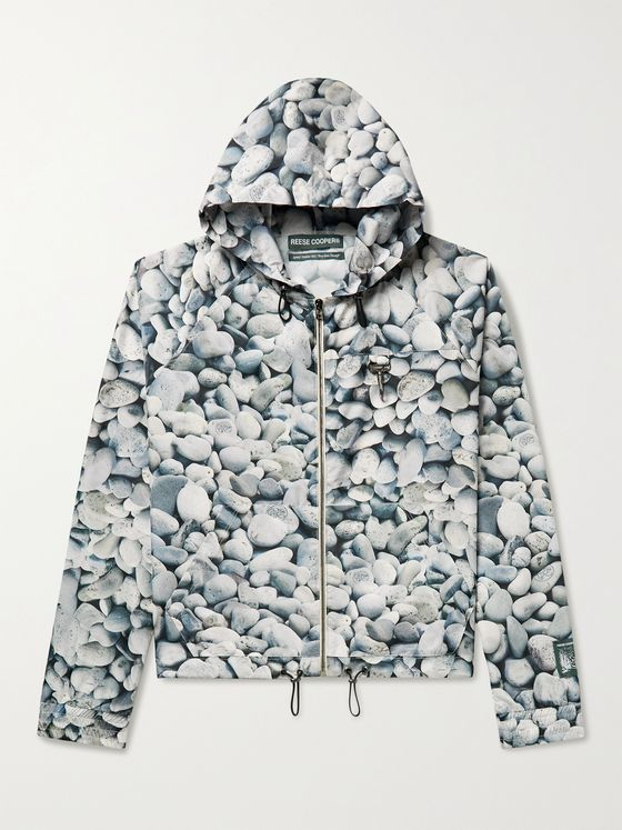 REESE COOPER® Printed Ripstop Hooded Jacket