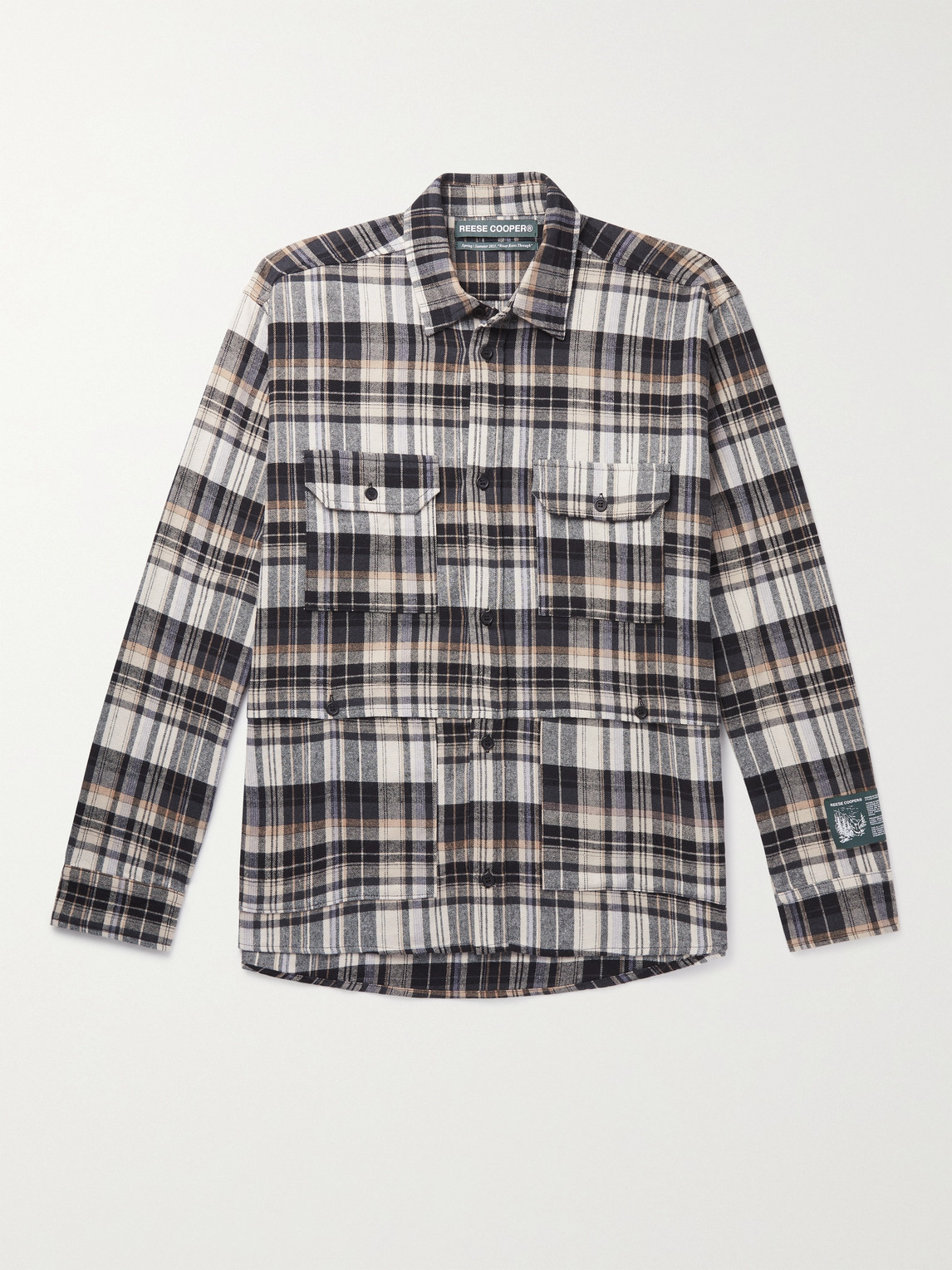 Reese Cooper Cottons COTTON-FLANNEL SHIRT