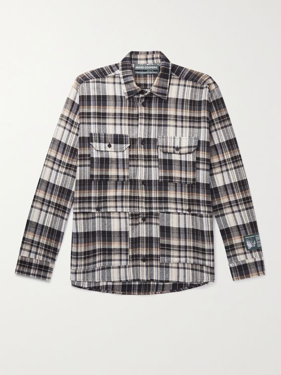 REESE COOPER® Cotton-Flannel Shirt