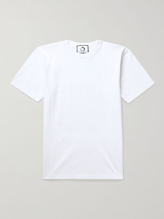 ENDLESS JOY Printed Organic Cotton-Jersey T-Shirt