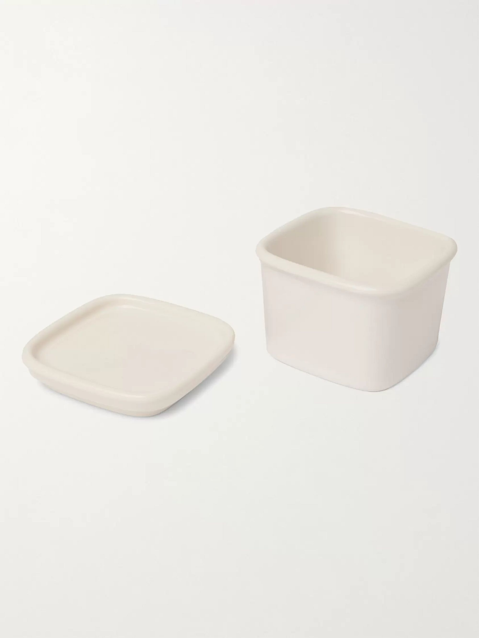 BY JAPAN + Ceramic Japan Harvest Small Porcelain Canister
