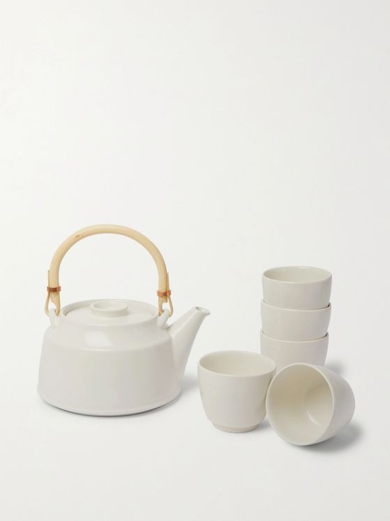 BY JAPAN + Ceramic Japan Dobkin Tea Set
