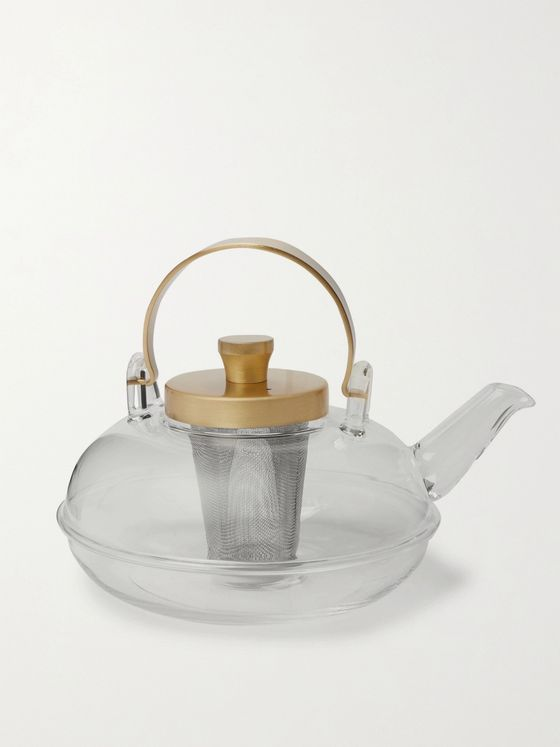 BY JAPAN + Hirota Glass Teapot